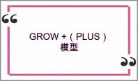 Coaching Model: GROW +(PLUS)模型